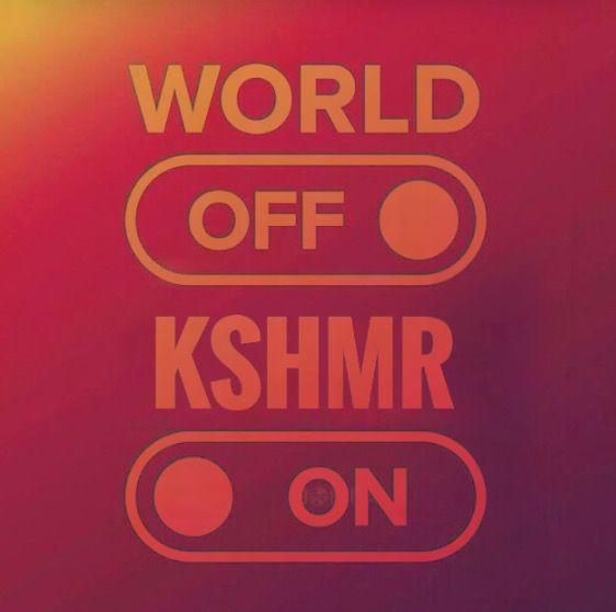 WORLD OFF KSHMR ON #kshmr #kshmrlogo #logo #gracethekshmrfan