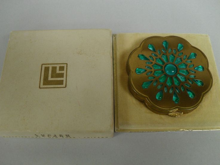 1000 Images About Vintage Powder Compacts On Pinterest