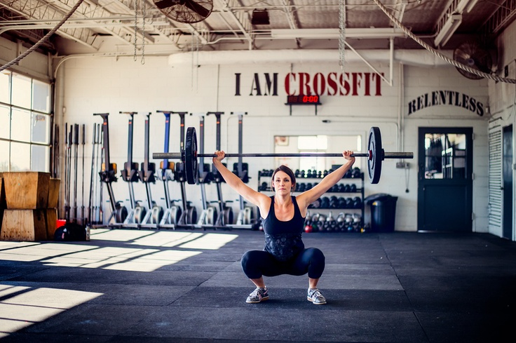 Crystal Bold at CrossFit Central