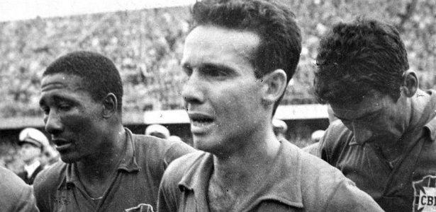 Arquivo/Folha Imagem Na Copa da Suécia, o Brasil finalmente superou o trauma de 1950 e se tornou campeão do mundo. Com um futebol ofensivo, a seleção venceu cinco das seis partidas, marcou 16 gols e sofreu apenas quatro.