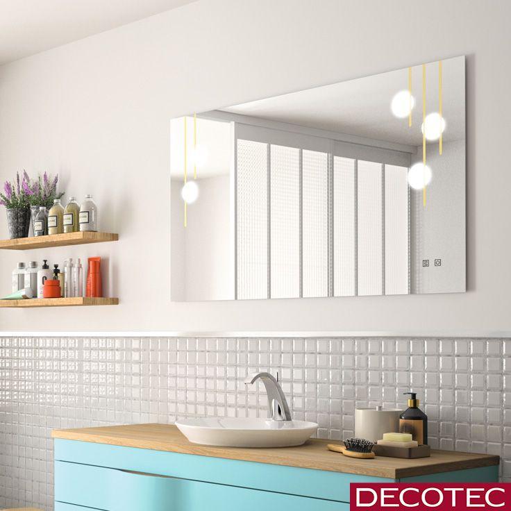 Le Miroir Design Lumineux Tiffany Suspension Miroir Design Inspiration Salle De Bain Miroir Anti Buee