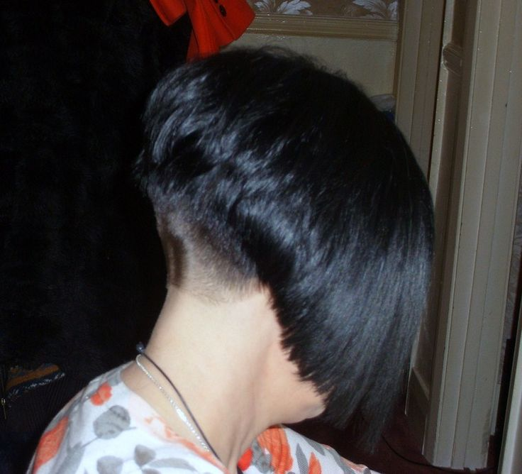 1000+ images about Bobs,napes and sexy hairstyles on