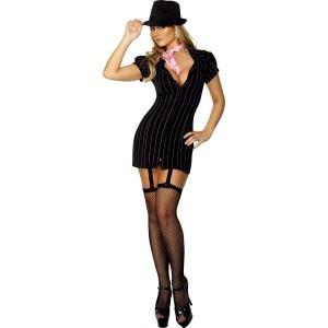 Ladies Gangster Costume - £23.99