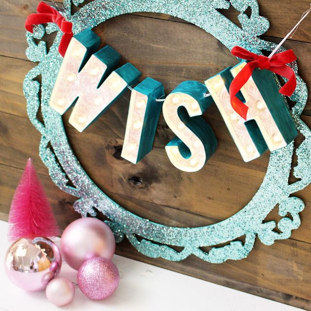 """@heidiswapp 4"""" Marquee Letters can now be found in @spotlight stores! Inspiration by Kim Jeffress for Heidi Swapp"""