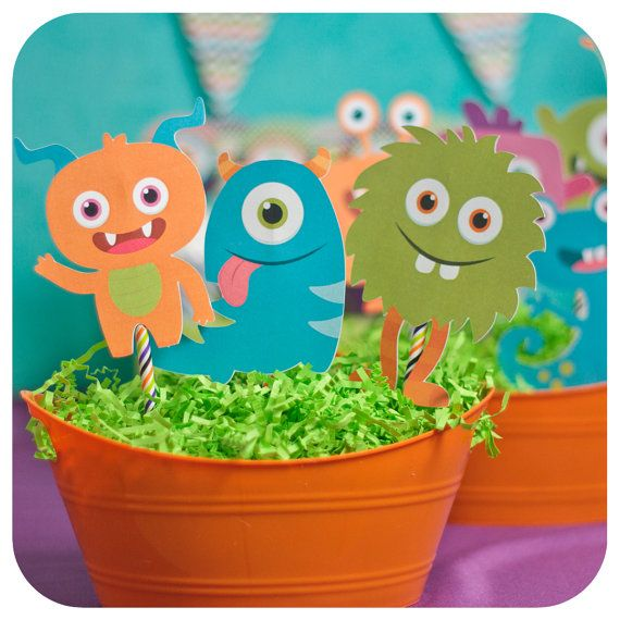 Little Monsters Little Monsters Party Monster by KraftsbyKaleigh