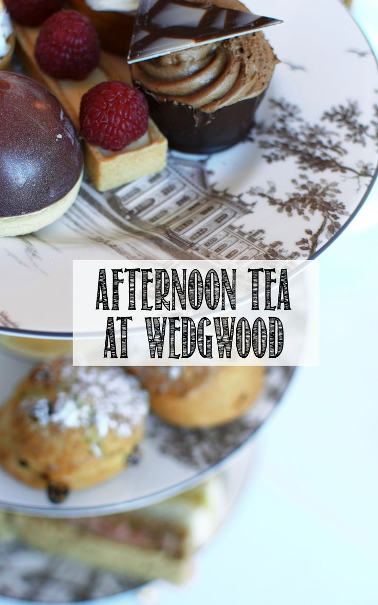 The most delicious afternoon tea with stunning decor at the world of wedgwood. Click through to see!