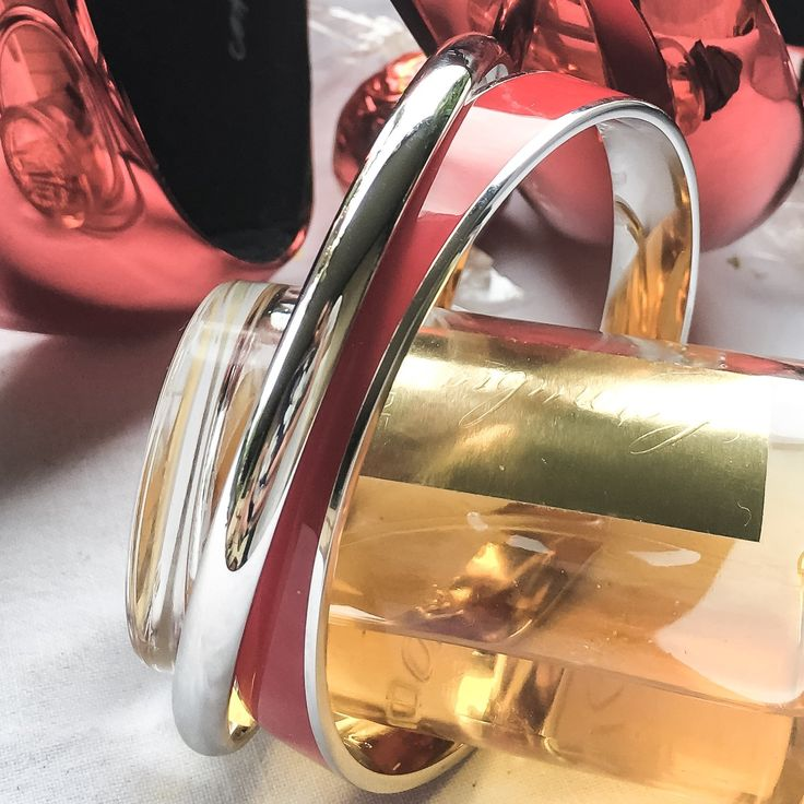 Enamel Lovers - I love this literally red hot enamel bangle to give a lift to any outfit. https://www.myjewellerystory.com.au/glossy-red-hot-enamel-candy-bangle-bracelet-64mm-statement-rhodium-plated.html  https://www.myjewellerystory.com.au/solid-18k-wg-rhodium-plated-bangle-womens-bracelet-diameter-68mm-statement.html