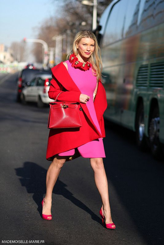 Never afraid of colour! #ZhannaBianca in Paris. Looking for colour inspiration to start your outfits and to mix and match? Go to sheathbeneath.com to get your inspiration for your first layer with camis and slips and also how to wear your sheer pieces! #sheathbeneath #camis #slips. Camis $54.95 slips $64.95 For when you just need something underneath!