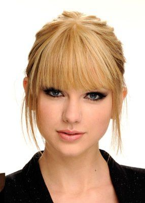 updo with bangs...need ideas for Cass' wedding