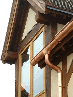 27 best copper guttering images on pinterest copper gutters copper guttering solutioingenieria Images