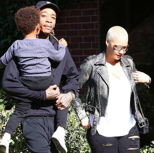 Getting back together? Amber Rose and Wiz Khalifa spend Thanksgiving together