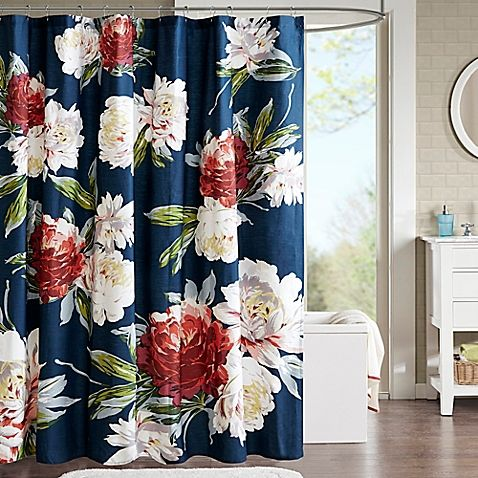 Give Your Bathroom A Burst Of Color With This Floral