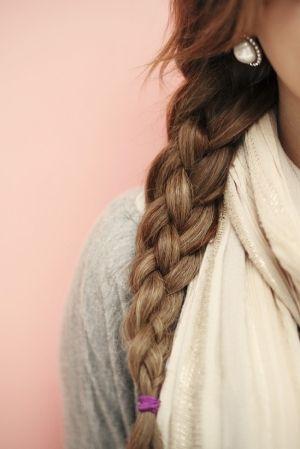 Four strand braid. Follow my Hair board :)