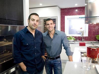 "Dazzling Kitchen Makeovers on the TV show ""Kitchen Cousins"" on HGTV"