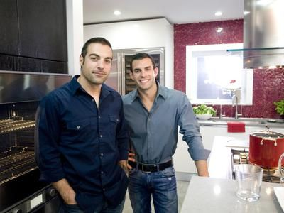 "Dazzling Kitchen Makeovers on the TV show ""Kitchen Cousins"" on HGTV"