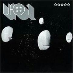 """UFO """"1"""" 1970 Beacon Records UK. (Rare Earth UK) First album before Larry Wallis and Michael Schenker.. Fits more with the style of bands that played at their namesake. Spaced out heavy rock w/ EDDIE COCHRAN cover. I can totally see why before he was in PINK FAIRIES, LARRY WALLIS joined. Sadly no recordings from his era. Their is amazing footage of him playing songs from this LP with UFO in 1971 on youtube. They went from space rock to the roots of NEW WAVE BRITISH HEAVY METAL in 1974 when…"""