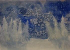 winter snow - w/c & salt
