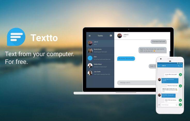 Textto te deja enviar y recibir mensajes de texto desde el ordenador y gratis