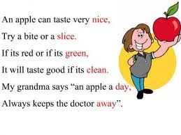 Here is an example of a poem that is a rhyming poem. Alice wrote ...