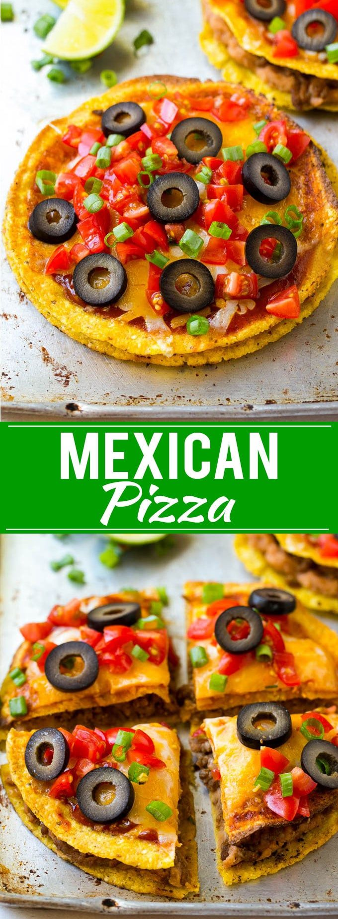 Mexican Pizza Recipe | Tostada Recipe | Taco Bell Copycat Recipe | Easy Mexican Food