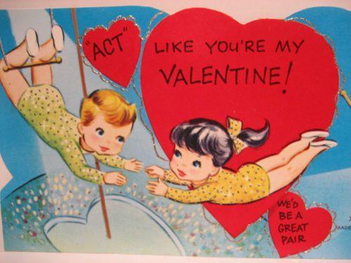 159 best Vintage valentine Cards  Clowns Circus Parades