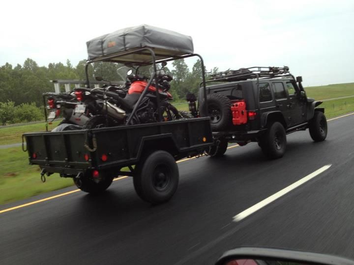 Creative Jeep And Mopar Off Road Camper Trailers Pictures To Pin On Pinterest
