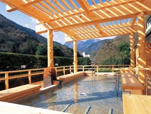 Only a short JR (Japan Railway) ride away from Tokyo and at the base of Mt. Fuji, the Hakone onsen is Japan's most popular.