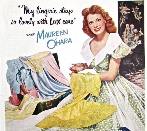 1950s LUX SOAP Ad Magazine Print by ACMEVintageLimited on Etsy, $7.75