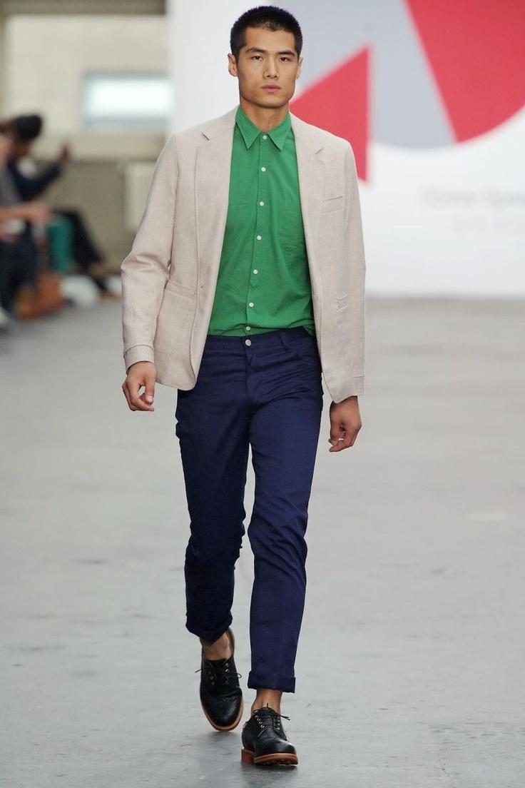 oliver-spencer-spring-summer-2013-23.jpg (800×1200)Spencer Springsummer, Menswear London, Olive Spencer, Blue Green, Men Fashion, Spring Summe 2013, Spencer Spring Summe, 2013 London, Fashion Spring