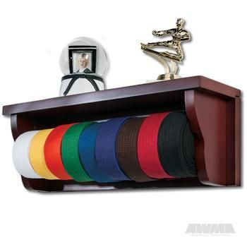 Shelf Belt Display Martial Arts Accessories | Great Selection | Great Prices | Great Service - AWMA