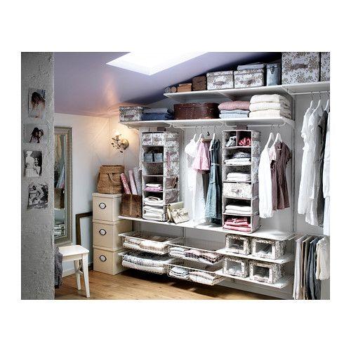12 best images about algot on pinterest closet system shelves and pantry. Black Bedroom Furniture Sets. Home Design Ideas