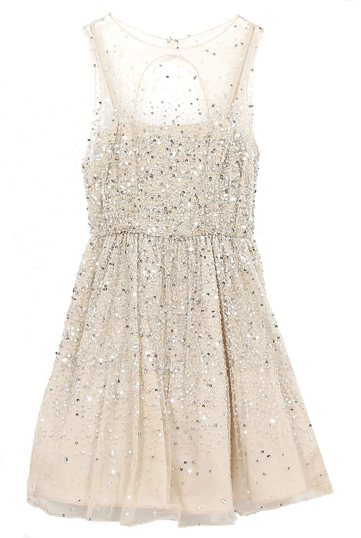 Sparkly short dress sparkle dresses party dresses for White sparkly wedding dress