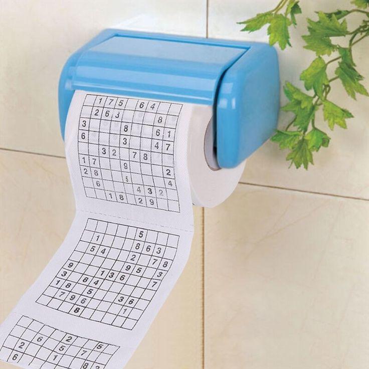 240 Sheets Durable Sudoku Su Printed Tissue Paper Toilet