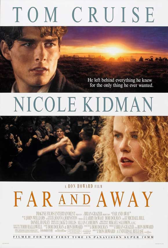 Far And Away - watched this in history still not sure how it relates to anything