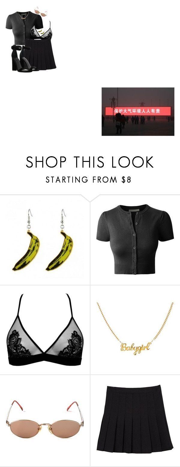 """""""L O V E"""" by palemoonlight-x on Polyvore featuring mode, LE3NO, Jean-Paul Gaultier en Kendall + Kylie"""
