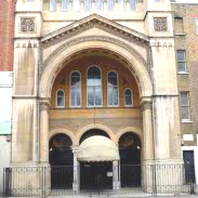 Sinagoga en Londres!!