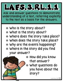 Attention Florida THIRD grade teachers!  What a perfect way to introduce the standards to your students and parents! Available for Common Core Standards too.  Bookmarks, question stems, vocabulary, and newsletters provided for ELA standards. TpT