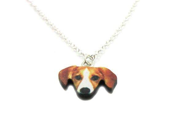 Beagle Dog Necklace Dog Charm Necklace Dog Charm Jewelry Best