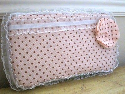 DIY baby wipe travel case...