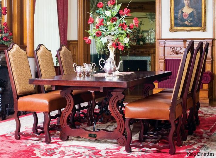 Spanish Iron Dining Set On Http://kingdinettes.com/social Gallery