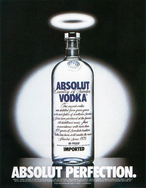 1980 yılında TBWA\ tarafından yaratılan bu kampanya, Absolut şişesini ilk kez ikonlaştırması açısından reklamcılık tarihi için bir ilk.