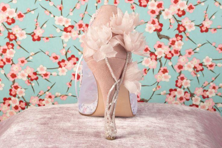 Handmade shoes by Savrani creations 2014