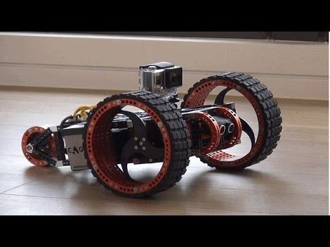 New Invention Cagebot The Ultimate Robot Kit Youtube Geek