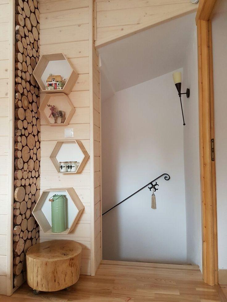 #Miod #stairs #design #cottage #log