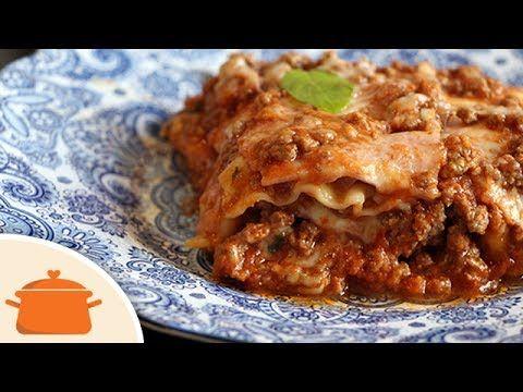 (4369) Lasanha de Frigideira (não vai no forno) - YouTube