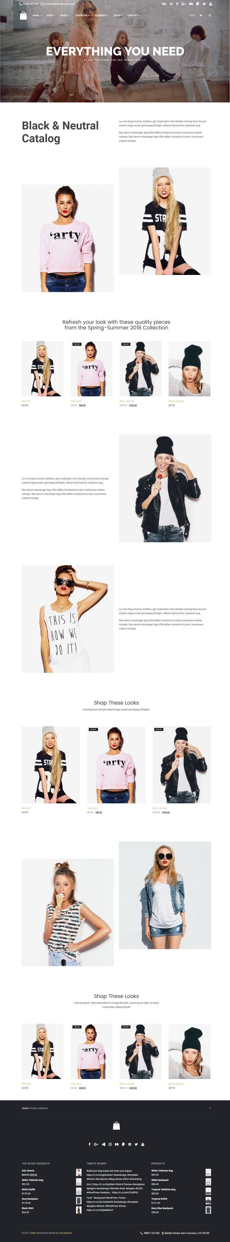 Seller - eCommerce WordPress Theme for creative and modern online Stores - Responsive, Clean, Modern, Stylish, Minimal and Multi-Purpose Template  https://visualmodo.com/th…/seller-ecommerce-wordpress-theme/ #webdesign #HTML5 #CSS3 #template #plugins #themes #WordPress #onepage #ecommerce #responsive #retina #marketing #website #blog #bootstrap #magazine #slider #business #siteBuilder #creative #Menu #Store #Shop #WooCommerce Take your site to the next level! Theme demonstrative website…