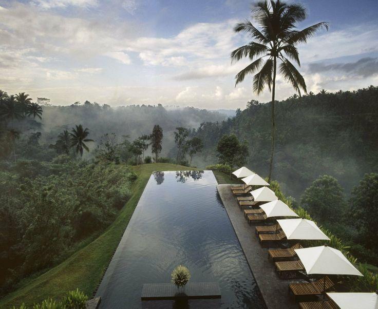Pool of Alila Hotel Ubud, formerly The Chedi, Ubud, Bali, Indonesia