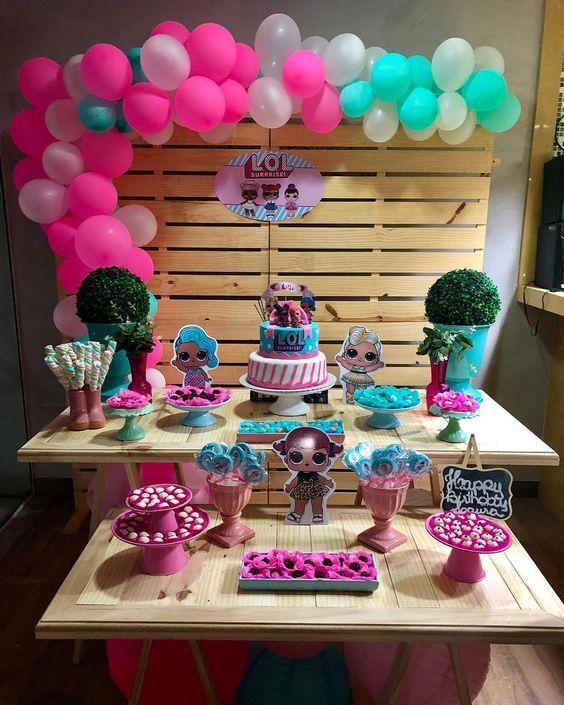 Mesa de dulces para fiestas infantiles fiestas in 2019 - Mesas para cumpleanos infantiles ...