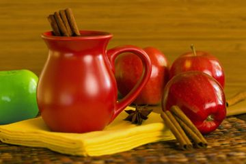 Make your own apple cider (also has a Martha Stewart video for making apple crisps).