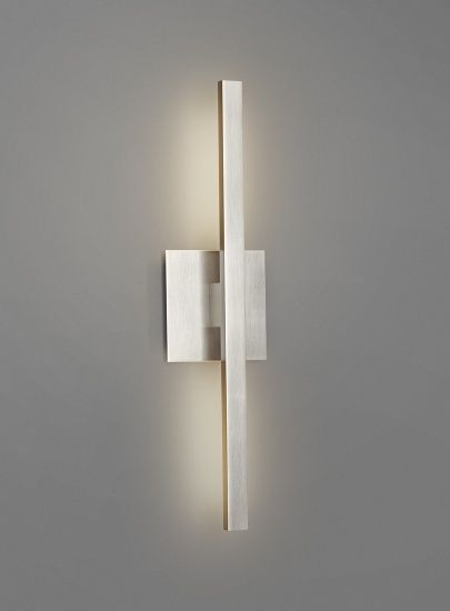 Hèmèra - Slik Wall Sconce. Will this give enough light?  Like how small it is. Horizontal of course.